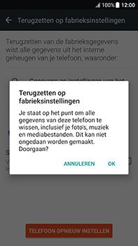 HTC U11 - Toestel reset - terugzetten naar fabrieksinstellingen - Stap 7