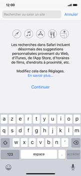 Apple iPhone X - iOS 13 - Internet - navigation sur Internet - Étape 3