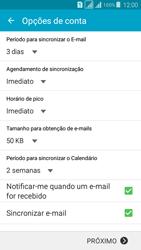 Samsung G530FZ Galaxy Grand Prime - Email - Como configurar seu celular para receber e enviar e-mails - Etapa 8