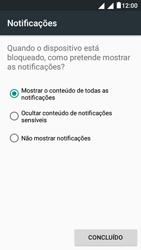 """Alcatel Pixi 4 (5"""") - Segurança - Como ativar o código de bloqueio do ecrã -  12"""