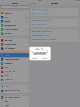 Apple iPad Pro 12.9 (1st gen) - iOS 9 - Device maintenance - Retour aux réglages usine - Étape 7