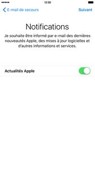 Apple iPhone 6s Plus - Premiers pas - Créer un compte - Étape 29