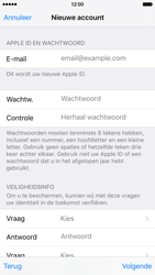 Apple iPhone 6 iOS 9 - Applicaties - Account aanmaken - Stap 12
