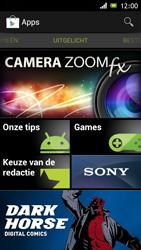 Sony ST26i Xperia J - Applicaties - Applicaties downloaden - Stap 17
