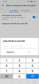 Huawei P Smart (2019) - Sécurité - modifier SIM PIN - Étape 13