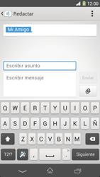 Sony Xperia Z1 - Mensajería - Escribir y enviar un mensaje multimedia - Paso 12