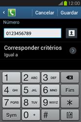 Samsung Galaxy Fame - Chamadas - Bloquear chamadas de um número -  11