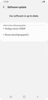 Samsung galaxy-s9-sm-g960f-android-pie - Software updaten - Update installeren - Stap 7