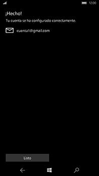 Microsoft Lumia 950 XL - E-mail - Configurar Gmail - Paso 12