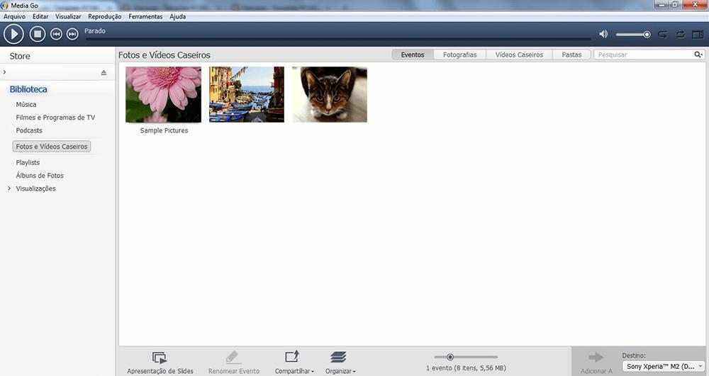 Sony Xperia M4 Aqua - Conexão com pc - Como transferir arquivos do computador para seu aparelho - Etapa 9