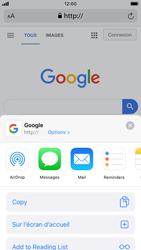 Apple iPhone 8 - iOS 13 - Internet - navigation sur Internet - Étape 16