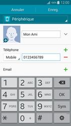 Samsung Galaxy A5 (A500FU) - Contact, Appels, SMS/MMS - Ajouter un contact - Étape 7
