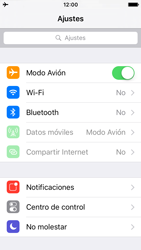 Apple iPhone SE - Funciones básicas - Activar o desactivar el modo avión - Paso 4