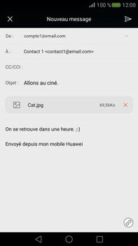 Huawei Mate S - E-mail - envoyer un e-mail - Étape 15