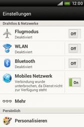 HTC Desire C - Internet - Internetverbindung - Manuelle Einstellung - Schritt 5
