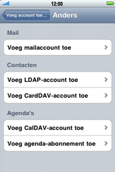Apple iPhone 3G S - E-mail - handmatig instellen - Stap 6