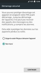 HTC U Play - Sécuriser votre mobile - Activer le code de verrouillage - Étape 7