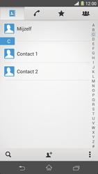 Sony Xperia Z1 4G (C6903) - Contacten en data - Contacten kopiëren van toestel naar SIM - Stap 4