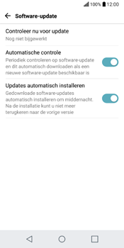 LG Q6 (M700) - Software updaten - Update installeren - Stap 8