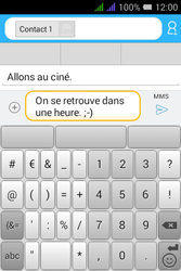 Alcatel Pixi 3 Dual Sim - Contact, Appels, SMS/MMS - Envoyer un MMS - Étape 13