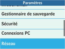 Samsung C3500 Chat 350 - Internet - configuration manuelle - Étape 5