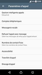 Sony Xperia XZ Premium - Messagerie vocale - configuration manuelle - Étape 6