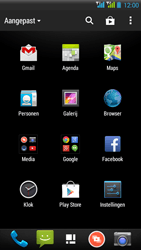HTC Desire 516 - Voicemail - Handmatig instellen - Stap 3