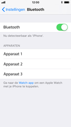 Apple iPhone SE - iOS 11 - Bluetooth - koppelen met ander apparaat - Stap 7