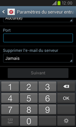Samsung I9105P Galaxy S II Plus - E-mail - Configurer l