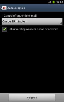 Samsung N7000 Galaxy Note - OS 4 ICS - E-mail - handmatig instellen - Stap 17