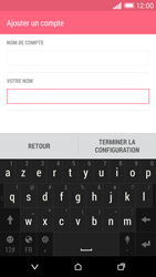 HTC Desire EYE - E-mail - Configuration manuelle - Étape 18