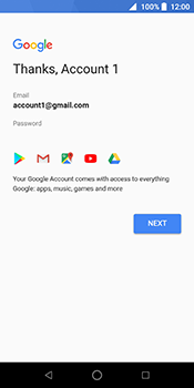 ZTE Blade V9 - Applications - Create an account - Step 18