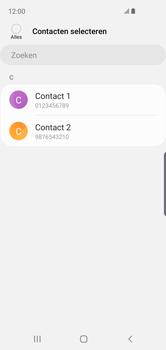 Samsung galaxy-s10e-dual-sim-sm-g970f - Contacten en data - Contacten kopiëren van toestel naar SIM - Stap 9