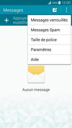 Samsung A300FU Galaxy A3 - SMS - configuration manuelle - Étape 5