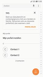 Samsung Galaxy S7 - Android N - Contactgegevens overzetten - delen via Bluetooth - Stap 4