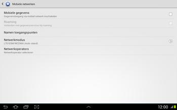 Samsung N8020 Galaxy Note 10-1 LTE - Internet - Uitzetten - Stap 7