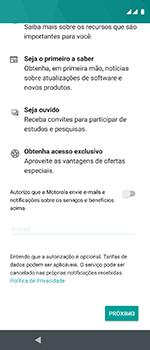 Motorola One Vision - Primeiros passos - Como ativar seu aparelho - Etapa 19