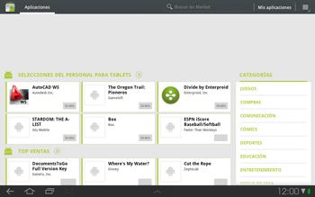 Samsung P7500 Galaxy Tab 10-1 - Aplicaciones - Descargar aplicaciones - Paso 3