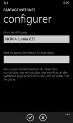 Nokia Lumia 635 - Internet et connexion - Partager votre connexion en Wi-Fi - Étape 8