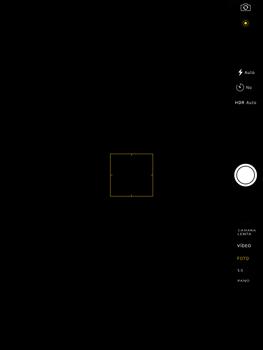 Apple iPad Pro 9.7 - Funciones básicas - Uso de la camára - Paso 3
