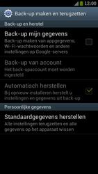 Samsung I9300 Galaxy S III - Toestel reset - terugzetten naar fabrieksinstellingen - Stap 5