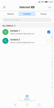 Huawei P Smart - Email - Sending an email message - Step 7