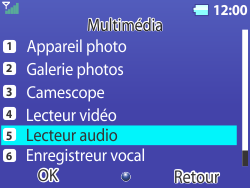 Bouygues Telecom Bc 311 - Photos, vidéos, musique - Ecouter de la musique - Étape 4