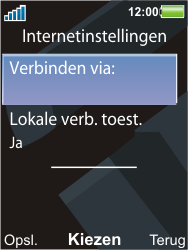 Sony Ericsson C903 - E-mail - Handmatig instellen - Stap 18