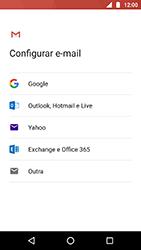 Motorola Moto X4 - Email - Como configurar seu celular para receber e enviar e-mails - Etapa 7
