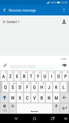 HTC Desire 626 - Contact, Appels, SMS/MMS - Envoyer un SMS - Étape 9