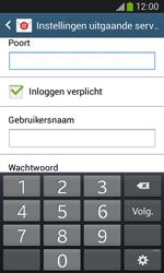 Samsung S7275 Galaxy Ace 3 - E-mail - e-mail instellen: POP3 - Stap 14