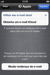 Apple iPhone iOS 5 - Primeiros passos - Como ativar seu aparelho - Etapa 15