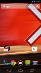 Motorola Moto X - Funções básicas - Como restaurar as configurações originais do seu aparelho - Etapa 1