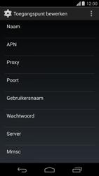 Motorola Moto G - Internet - Handmatig instellen - Stap 10